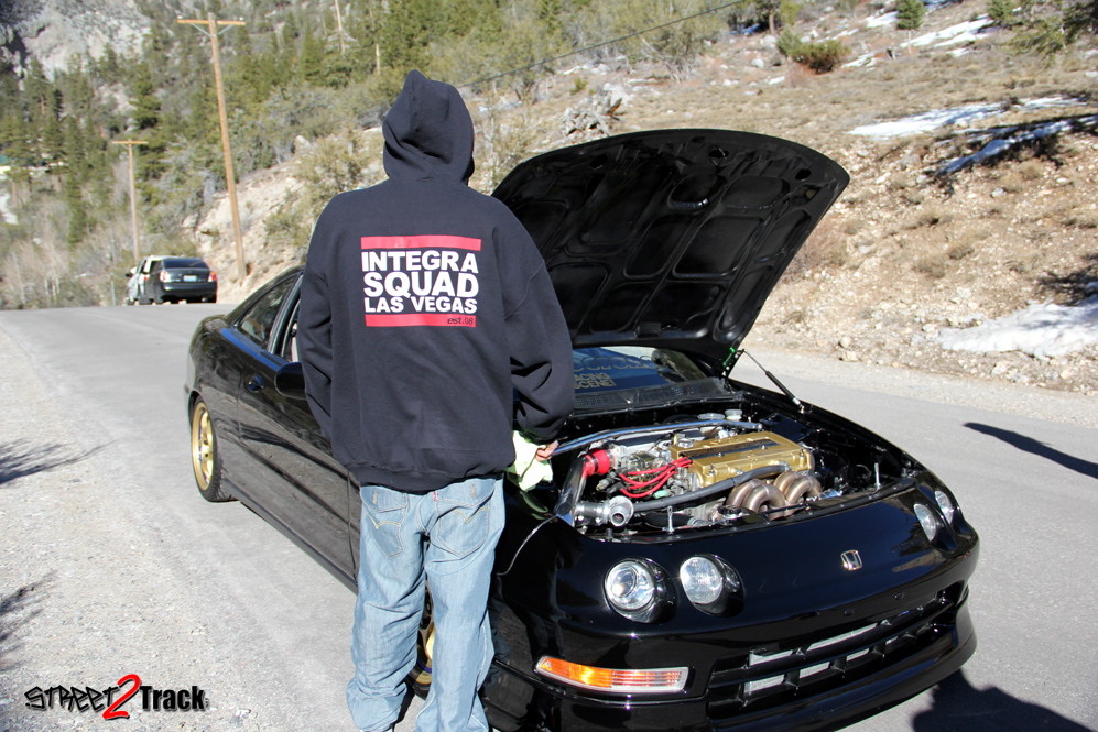 Bruce Garrison Street Track Big on 95 Acura Integra 2 Door